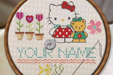 Create embroidery text online