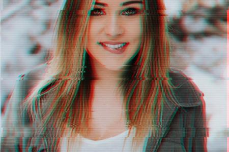 Free glitch effects picture editor