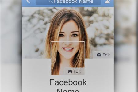 Create a Facebook profile picture online