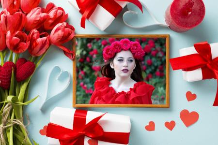 Photo Frame for valentine day